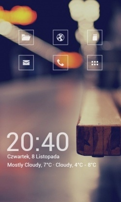 Liking the big picture with minimalistic icons...