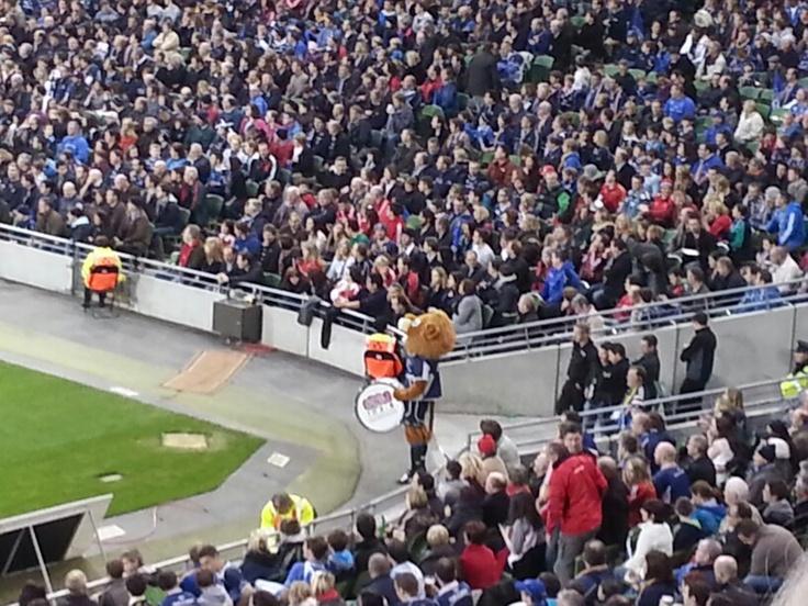 Munster V Leinster, half time entertainment