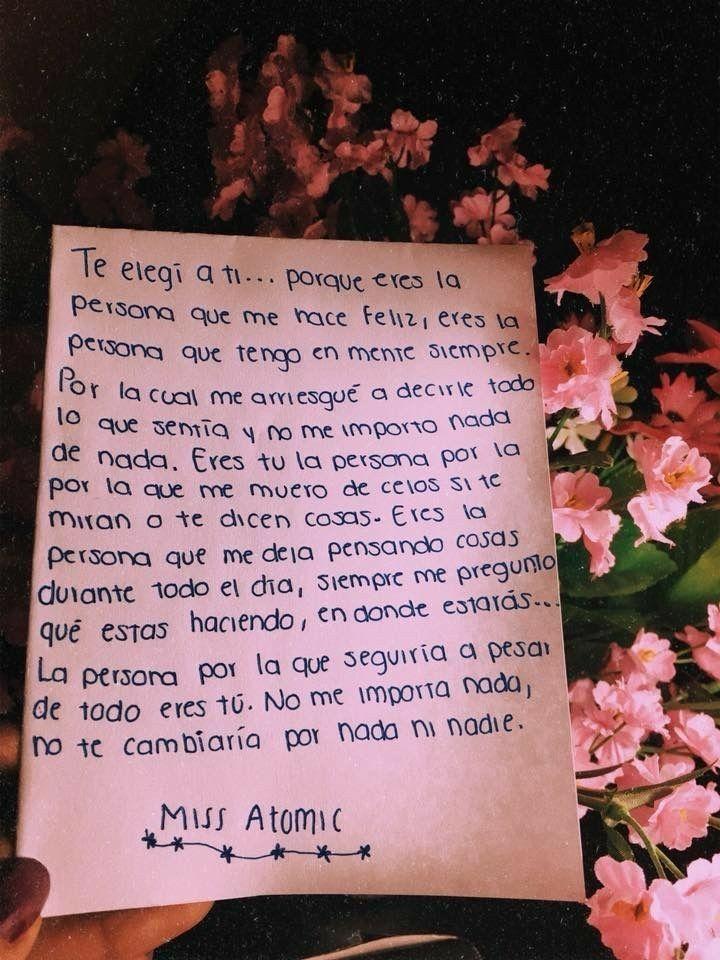 Mi Te Eligió Frases De Amor Frases Cursis De Amor Y