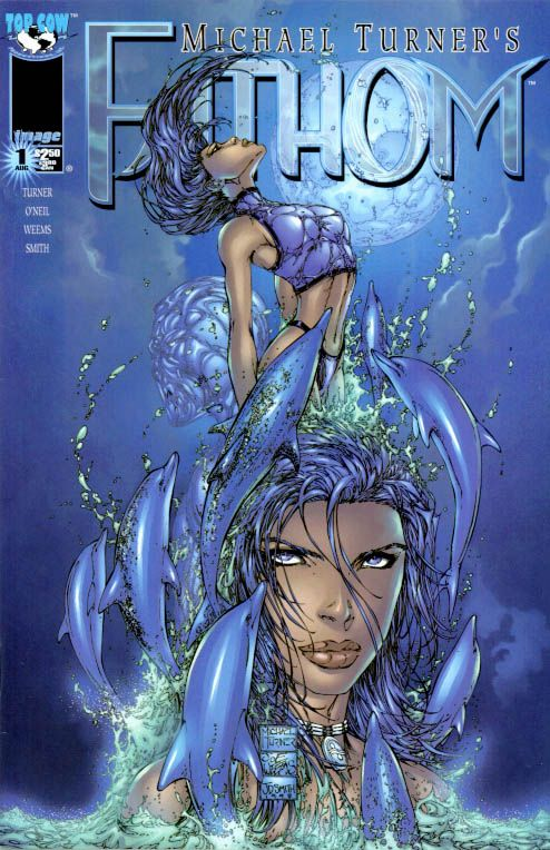Image comics Fathom #1 by legendary illustrator Michael ...