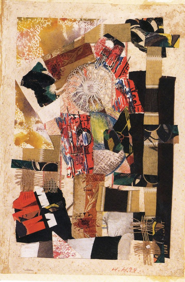 Cut with a kitchen knife hannah hoch - Collage