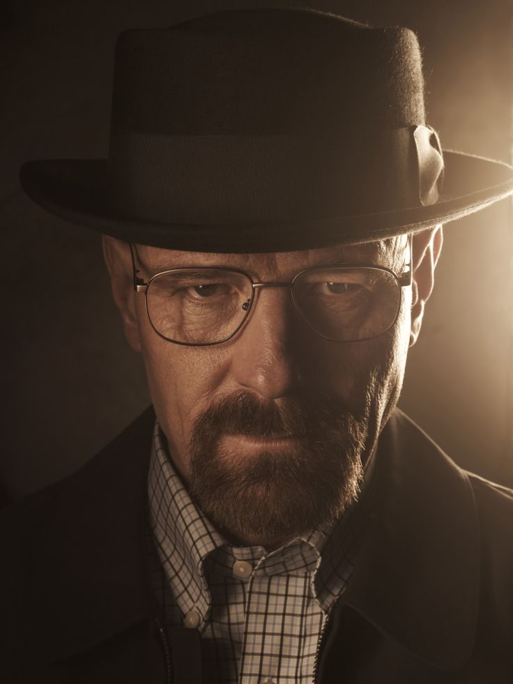 Bryan Cranston as Walter White.  Great program. Great actors. Love it.