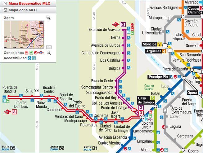 ESPAA Madrid 2007 Lneas del Metro Ligero ML2 y ML3  Metros
