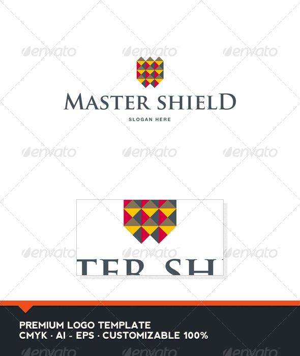 Master Shield Logo Template  #GraphicRiver         Master Shield: is a logo that can be used in hotels, universities and schools, wineries and wine brands, among other uses. Its design is very simple but elgante. Easy to set up and ready to print.    Customizable 100%   CMYK    AI – EPS    Font used Trajan Pro      Created: 7October12 GraphicsFilesIncluded: VectorEPS #AIIllustrator Layered: No MinimumAdobeCSVersion: CS Resolution: Resizable Tags: abstract #brand #branding #business #castle…