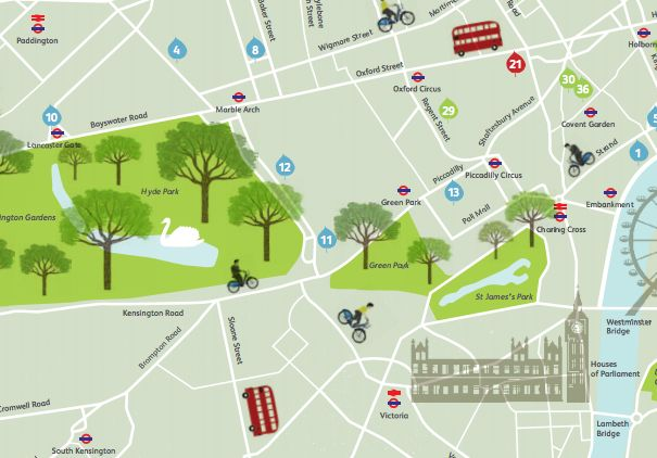 Mapping London: highlighting the best London maps