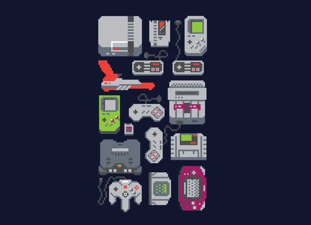 """""""A Pixel of My Childhood"""" - Threadless.com - Best t-shirts in the world"""