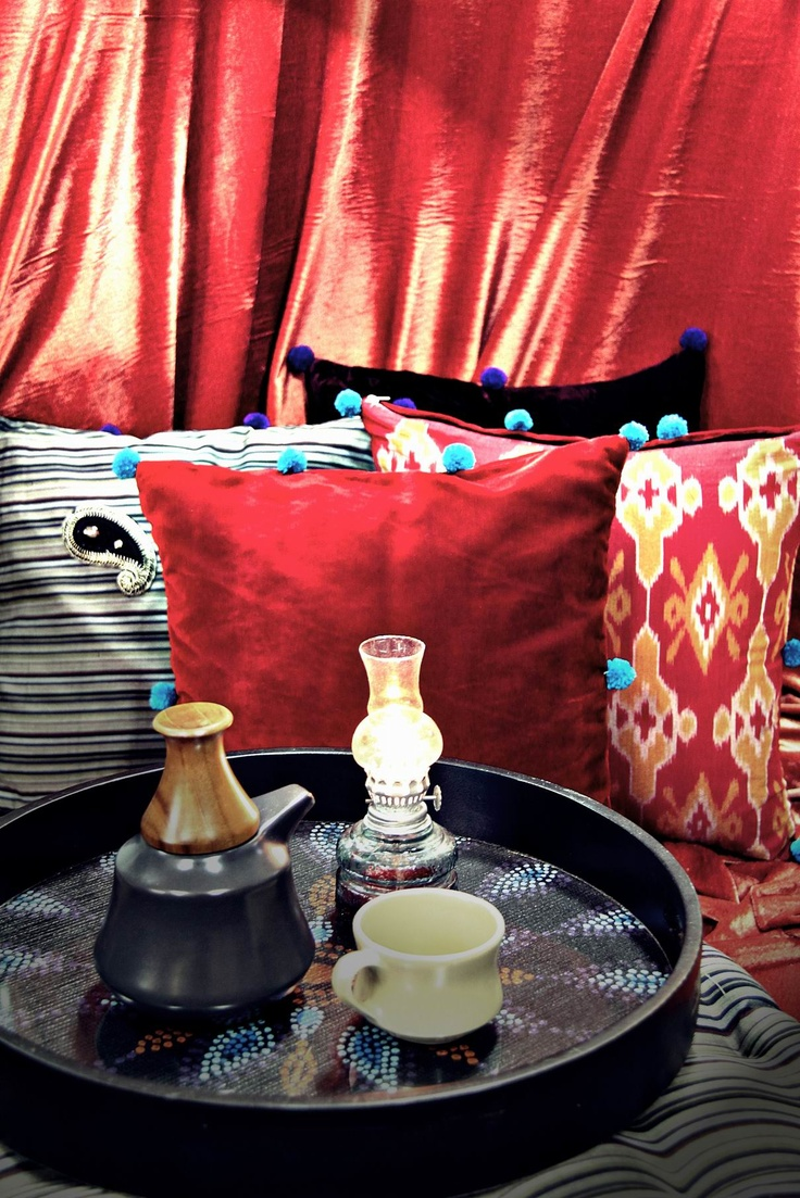 IKAT & LURIK bohemian pillow cases by tan-living.com