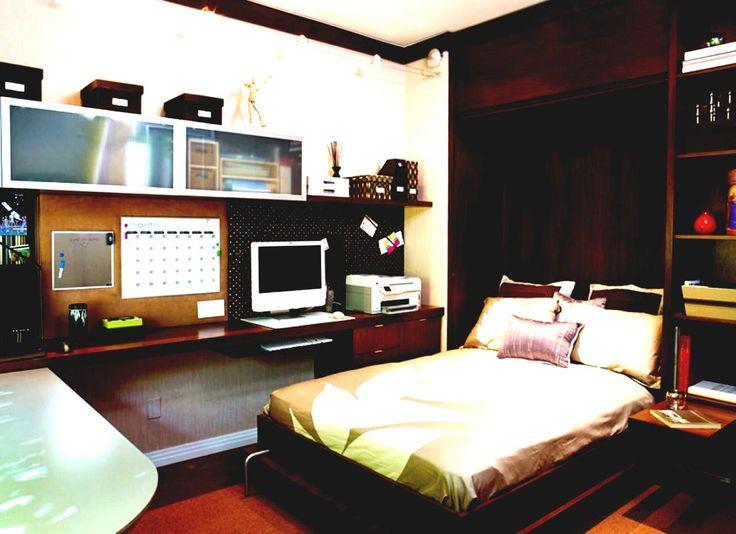 Master Bedroom Office Combo Design