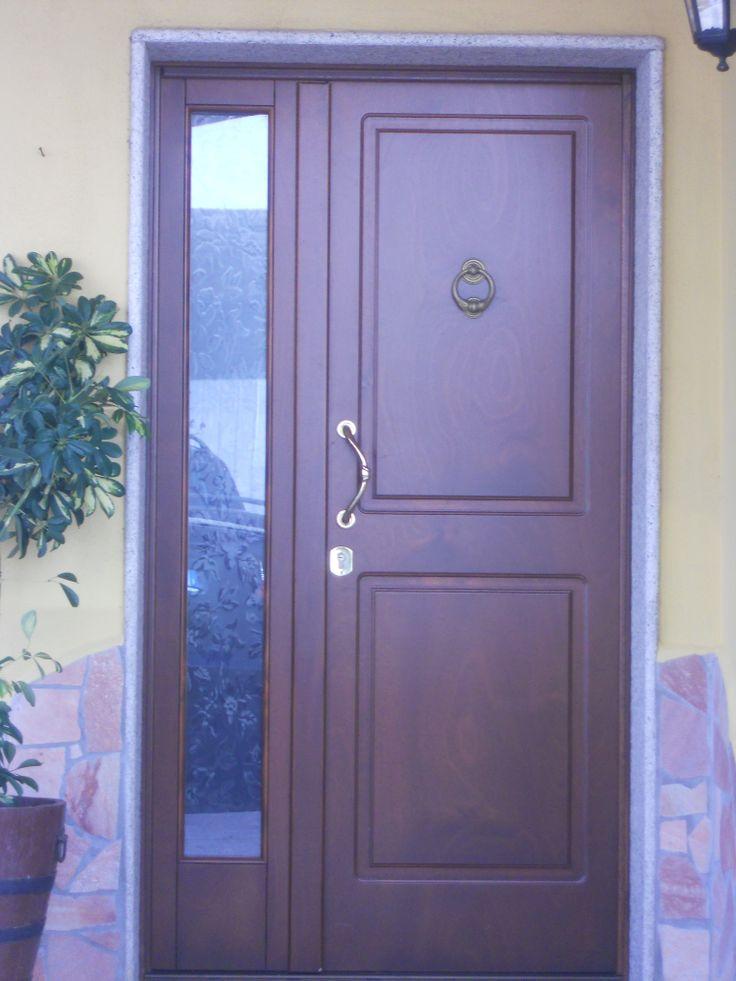 Portone pantografato con vetro porte e portoni per - Porte usate per esterno ...