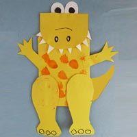 Preschool Dinosaur Crafts, Activities, and Printables | KidsSoup