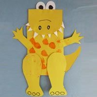Preschool Dinosaur Crafts, Activities, and Printables | KidsSoup
