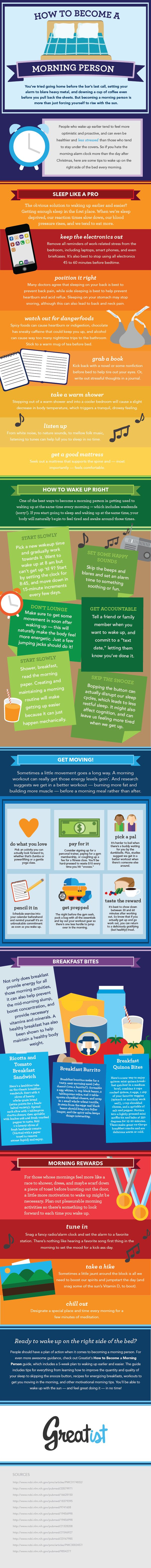 Get your day started right with these fantastic tips for becoming a morning person and increasing your energy!