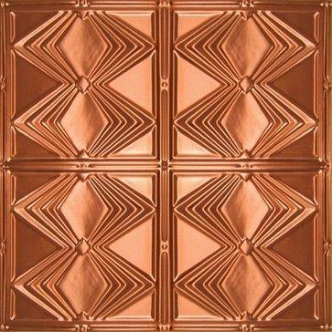 1220 Solid Copper Ceiling Tile - 2ft x 2ft  wallpaper