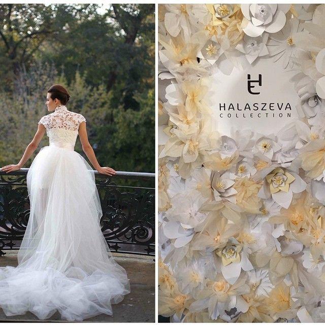 Várunk Titeket szeretettel szombaton és vasárnap 10-18:00 óráig az Esküvő kiàllítás és Vásáron a tükörfolyosón, a Budapesti Kongresszusi Központban HALASZEVA mesébe illő ruháit övező esküvői dekoràcióval.// We would like to invite you to join us on the Wedding exhibition this weekend in the Budapest Congress Center , where we present decoration inspiration designed especially for HALASZEVA dreamy wedding dresses. #edinaspaper #weddingcollection #halaszeva