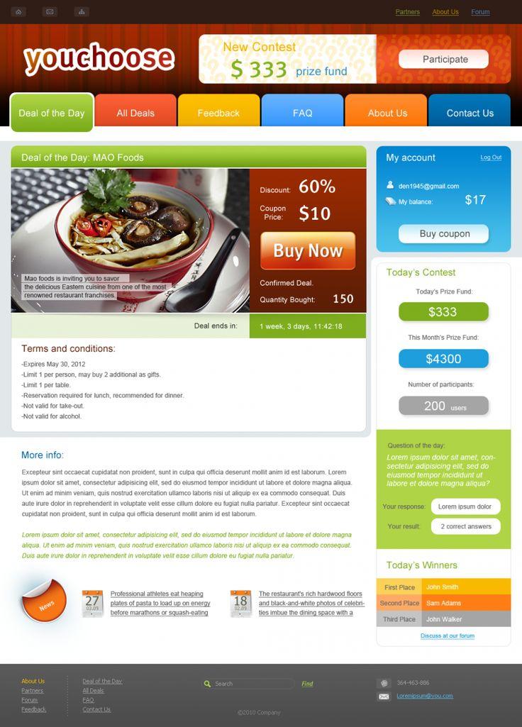 Website Design for YouChoose