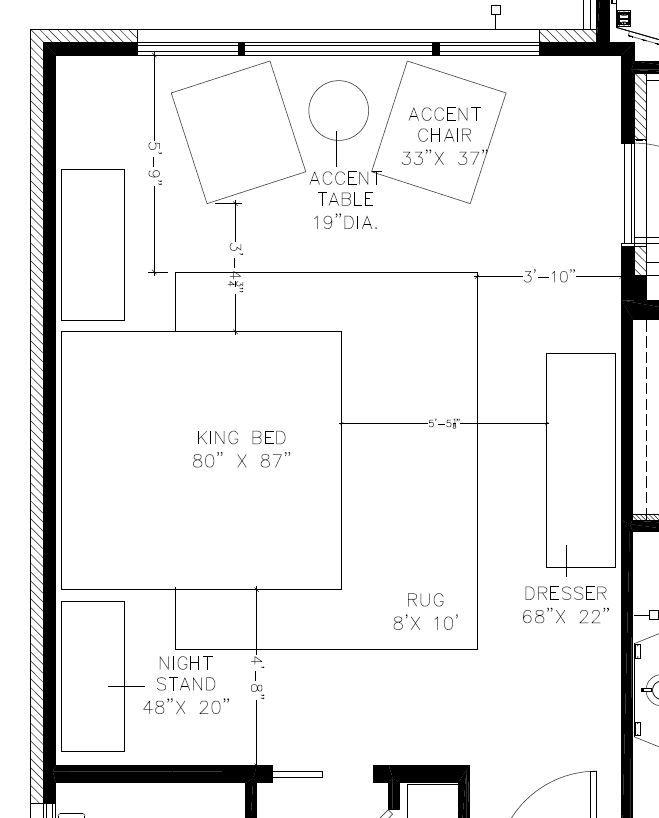 Master Bedroom Furniture Layout Master Bedroom Furniture Layout