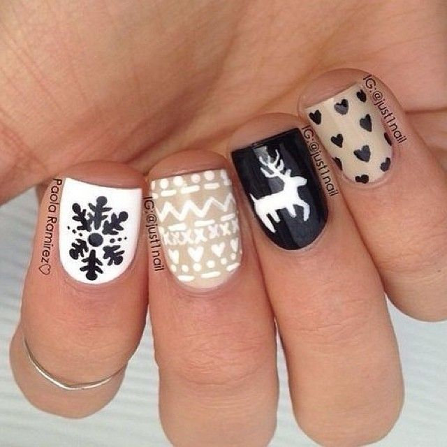 And Brown Suit As Well As Cute Acrylic Nail Design Ideas In Addition ...
