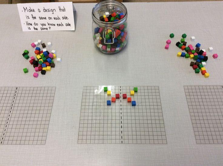 Symmetry : Acetate and CM cubes