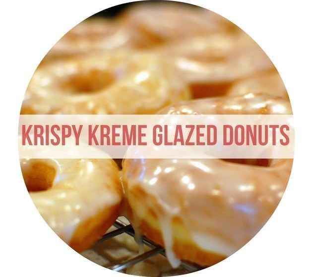 Homemade Krispy Kreme Glazed Donuts | 23 Copycat Recipes For Your Favorite Fast Foods