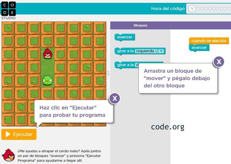 PROGRAMACIÓN PARA TODOS: Aprende a programar gratis y en español con CODE ~ Juegos gratis y Software Educativo