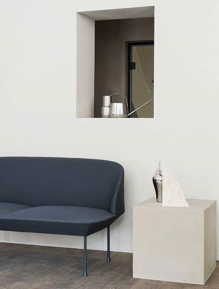 The Oslo Sofa Family Designed Anderssen Voll For Muuto Unites Geometric Lines With A Light Form For The Living Room Inspiration Sofa Design Home Furniture