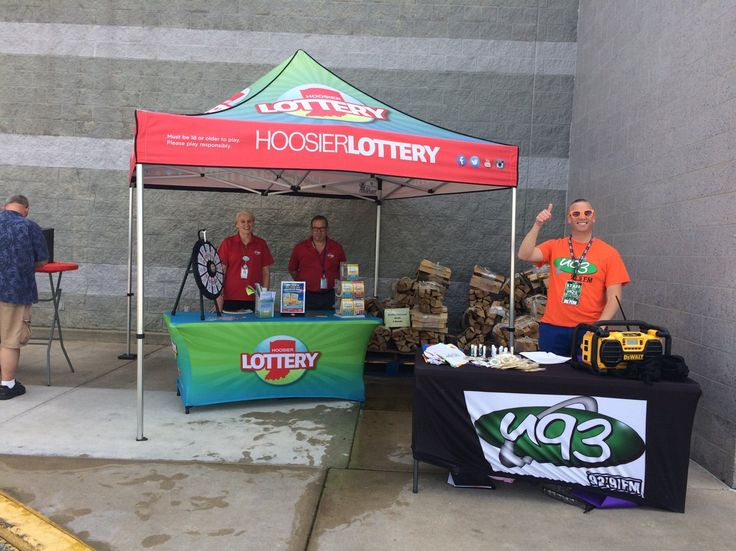Spinning & winning here in Erskine Plaza in South Bend! We will be here till 5 today! JOIN US!! Read more about the Prize Wheel at https://PrizeWheel.com/blog/.
