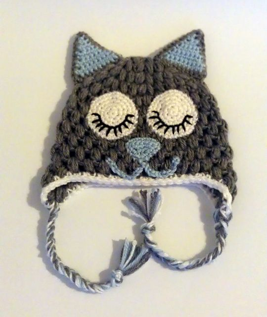 Ravelry: melliechicken's Kitty Cat Hat
