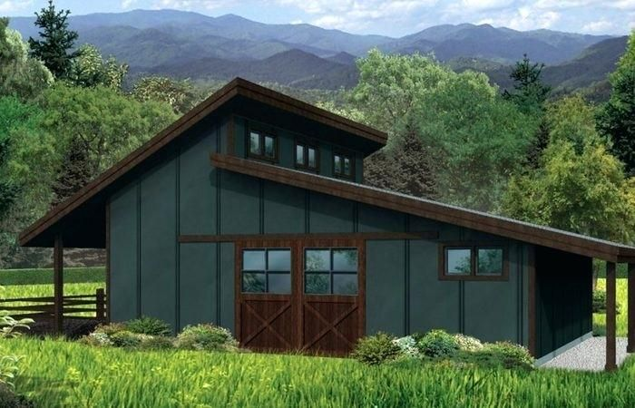 Image Result For Modern Sloped Roof Houses Country Style House Plans Shed Roof Design Shed Homes