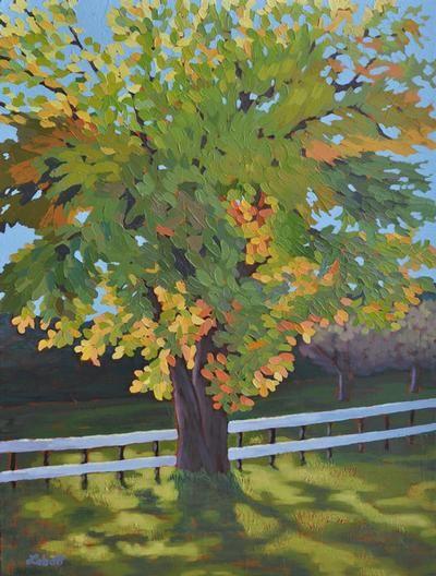 "Sharron Labatt - Morning Light 24 x 18"" acrylic/canvas acrylic/canvas | Featured August 1 - 31, 2013"