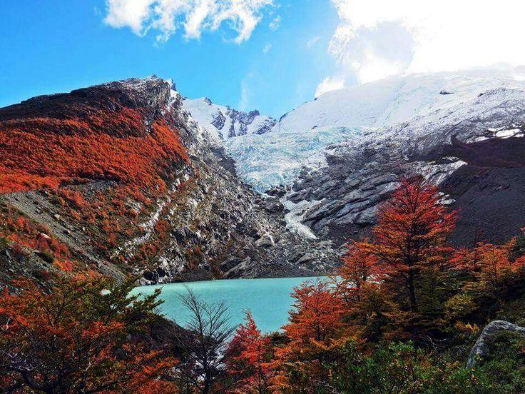 Glaciar Huemul, Chaltén, Argentina.