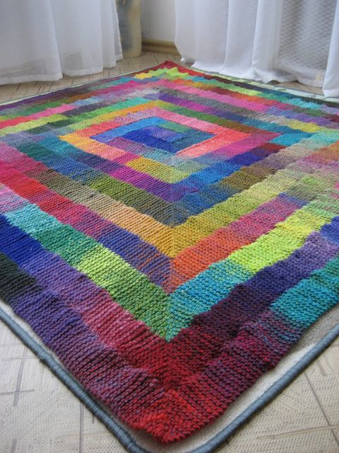 Knitting Quilt Stitch : Stitch blanket knitting pinterest beautiful