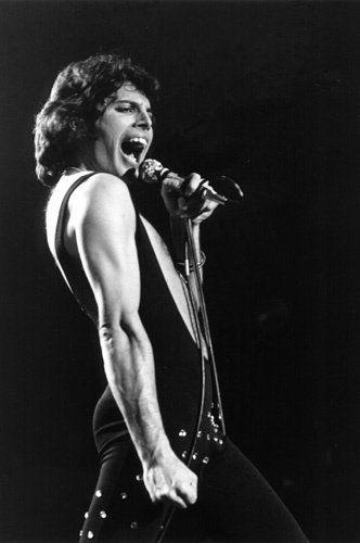 Freddie Mercury, one of my favorite voices.