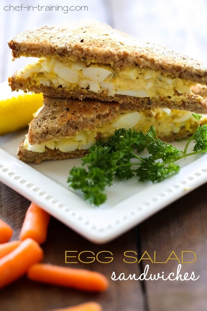 ... Eggs, Eggsalad, Chicken Salad Recipe, Egg Salad, Eggs Salad Sandwiches