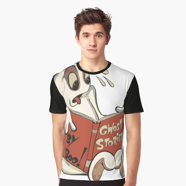 'Scary Ghost Stories' Graphic T-Shirt By Muhudu In 2020