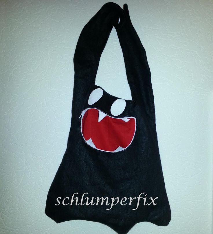 34 best NÄHEN: Halloweentasche / Trick or treat bag images on ...