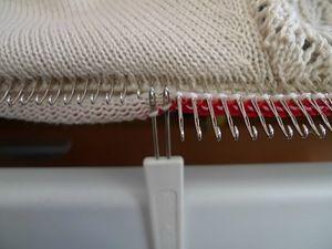 МК вязание на машине / Узкая обтачка