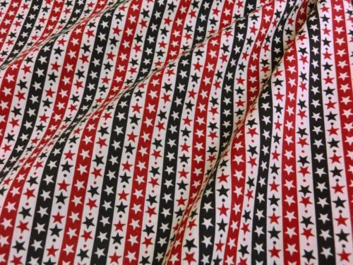STAR-SPANGLED-STRIPE-PATRIOTIC-RED-BLACK-44-W-FABRIC-DECOR-CRAFT-TABLECLOTH