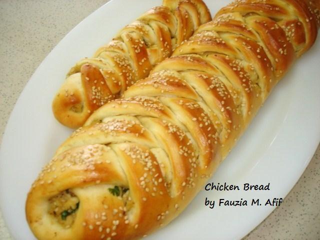 Chicken Bread Recipe Fauzia S Kitchen