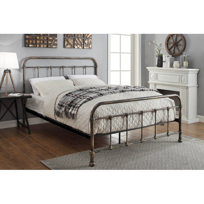Pereira Victorian Hospital Bed Frame In 2020 Black Metal Bed