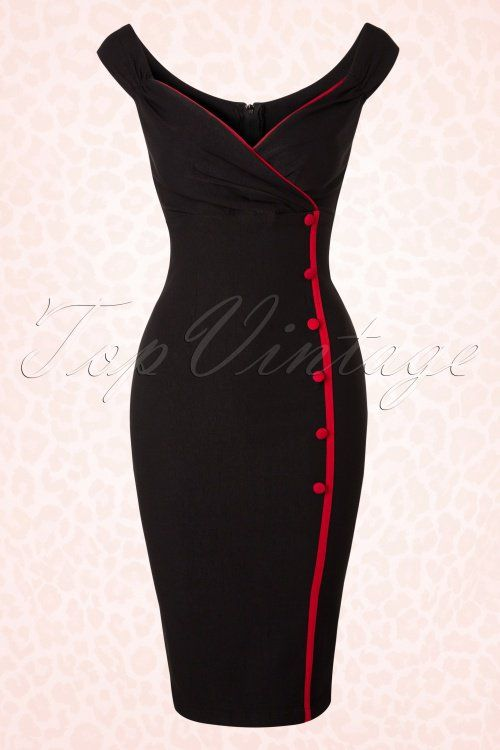 Steady Clothing Lilly Dress in Black Red 100 10 17046 20151103 0049W