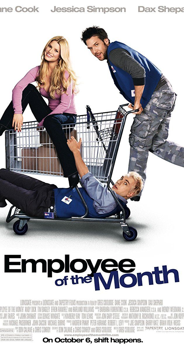 """Directed by Greg Coolidge. With Jessica Simpson, Dane Cook, Dax Shepard, Andy Dick. A slacker competes with a repeat winner for the """"Employee of the Month"""" title at work, in order to gain the affections of a new female employee."""