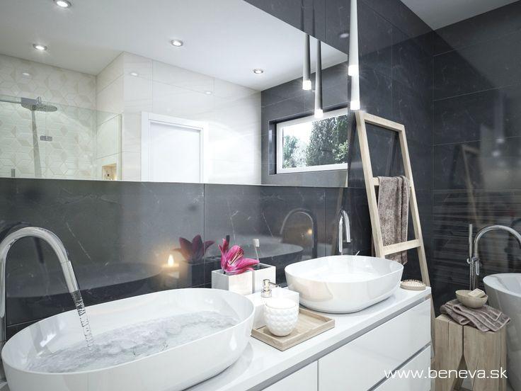 3D NÁVRHY KÚPEĽNÍ - Fotogaléria, šikovné riešenia kúpeľní / BENEVA