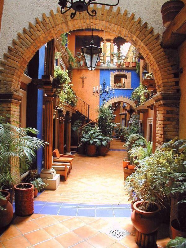 Fachadas Mexicanas vista exterior de cmo se vera su hogar  Arquitectura ColonialMxico