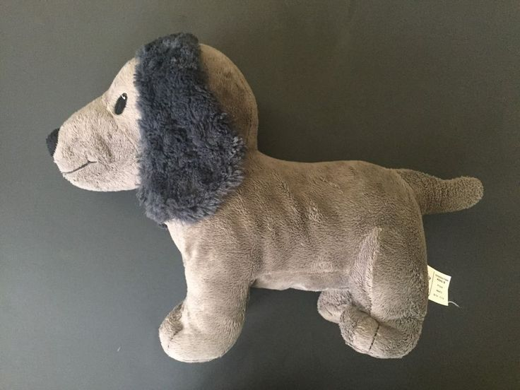 Kohl's Cares Charkie Gray Dog Plush Stuffed Animal Curious George Puppy #KohlsCares