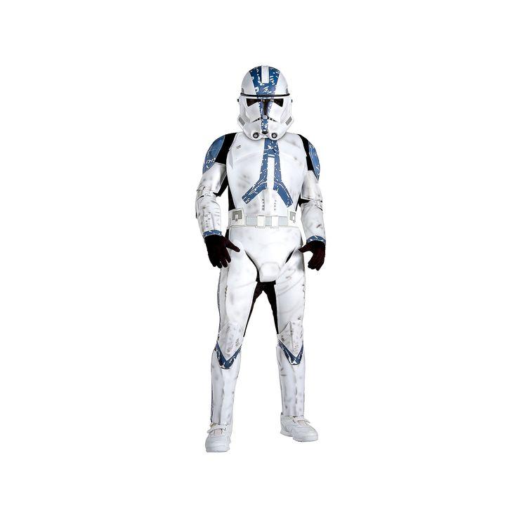Star Wars Clone Trooper Deluxe Costume - Kids, Boy's, Size: Medium, Multicolor