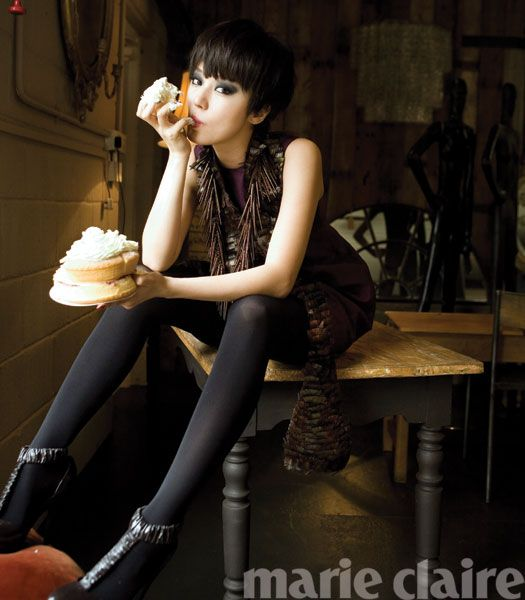 Yoon Eun Hye: Marie Claire August, 2008 [UPDATED]