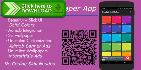 [ThemeForest]Free nulled download Solid Colors Wallpaper App + Admob interstitial And Banner Ads from http://zippyfile.download/f.php?id=54344 Tags: ecommerce, admob, Andriod Wallpaper, android, android app, banner ads, Interstitial Ads, wallpapers