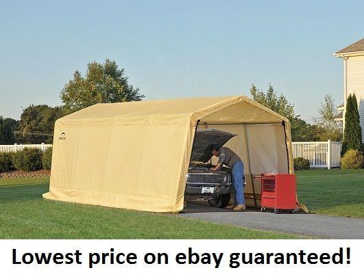 10x20x8 storage auto shelter portable garage carport canopy