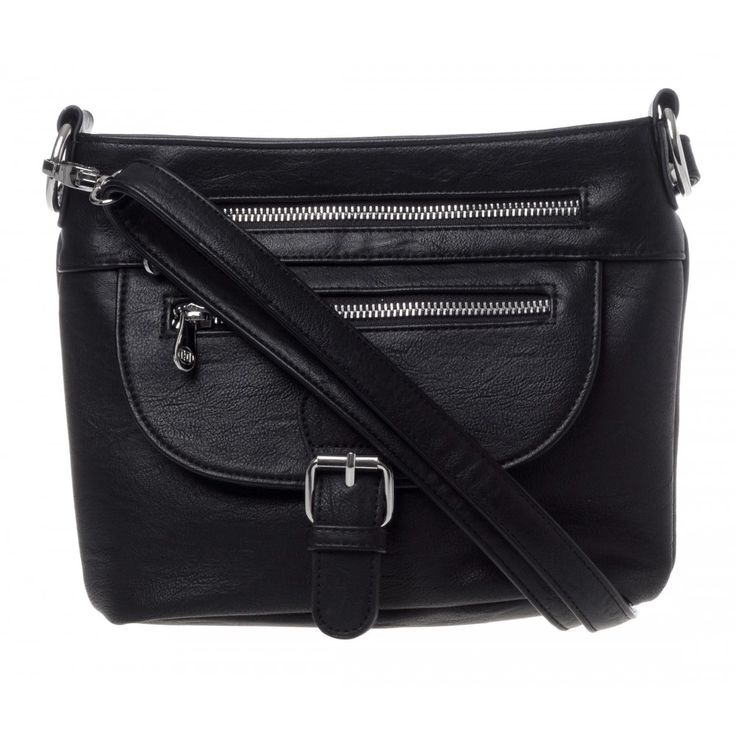 Bree Zip Crossbody in BLACK #23104 - colette by colette hayman