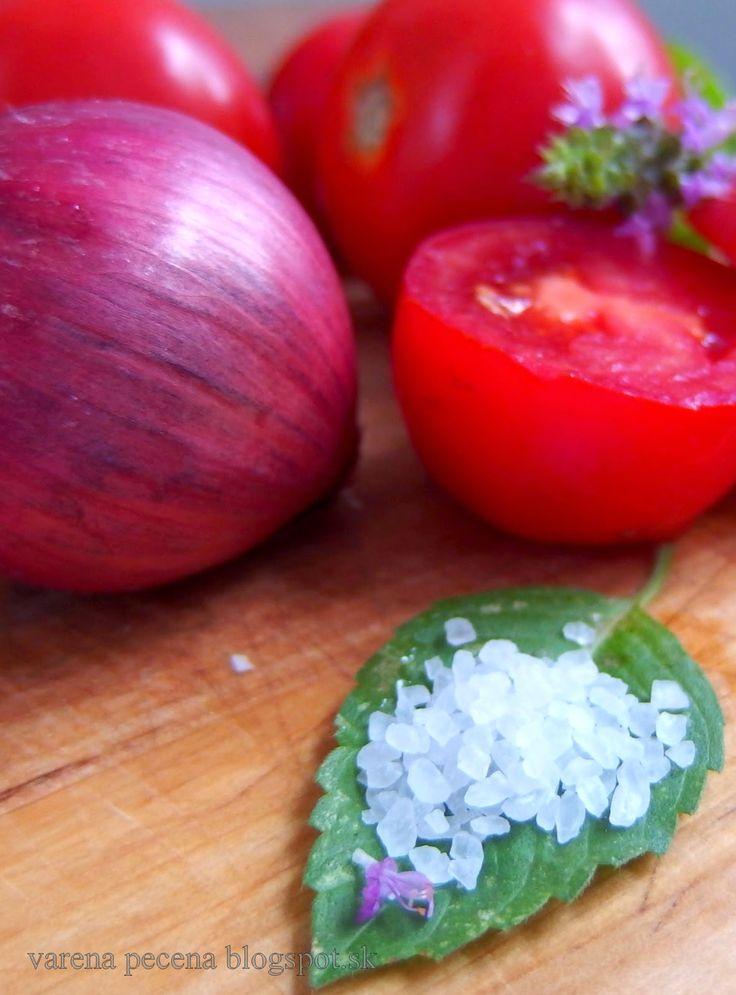 varená - pečená: Bruschetta- večera s letnou atmosférou - aj keď le...